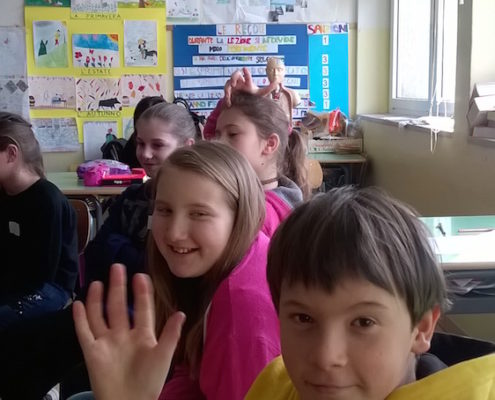 Scuola Santa Croce, classe 5A