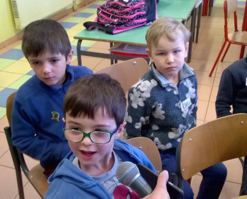 Scuola Santa Croce, classi 1A e 2A