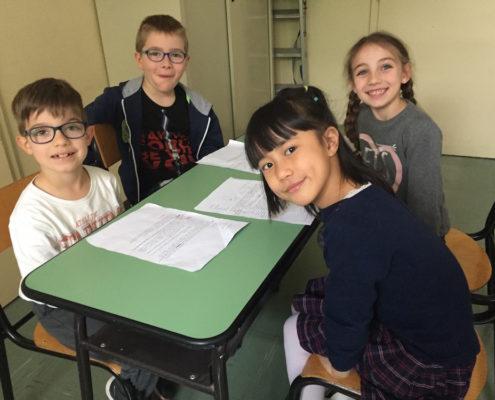 Scuola Saba, classe 2B