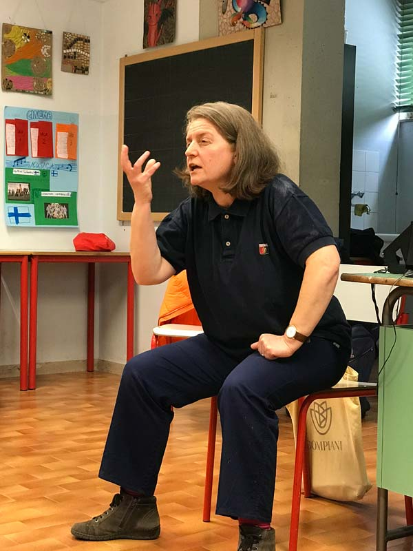 Margherita Hack, classe 2C, Scuola sec. di I grado E. Feruglio, Feletto Umberto (UD)