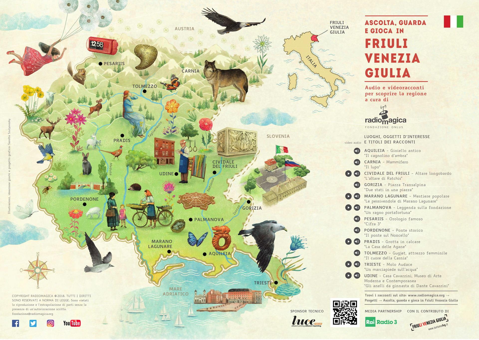 Cartina Del Veneto E Friuli.Smartradio Radio Magica