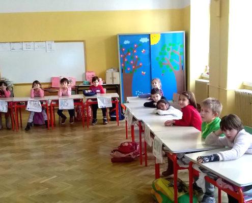 Scuola Tarabochia, classe 1A