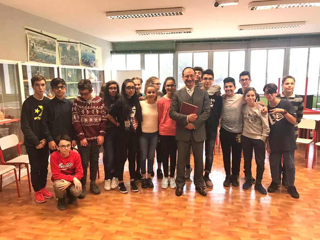 Guglielmo Marconi, classe 3G, Scuola sec. di I grado E. Feruglio, Feletto Umberto (UD)