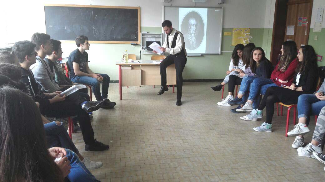 Alessandro Volta, classe 3F, Scuola sec. di I grado D. Alighieri, Ferrara